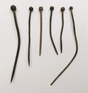 Shawl pins 14-18th century